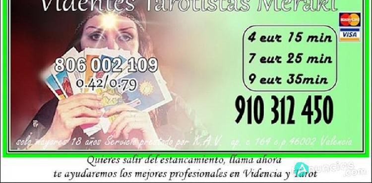 Buscas respuestas fiables tarot meraki 910 312 450