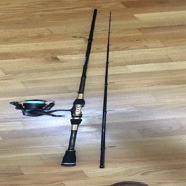 Caña pesca -spinning eging
