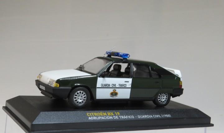 Citroen bx 19 agrupacion trafico guardia civil 1998