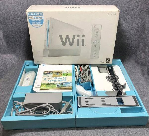Consola nintendo wii con caja+wii sports