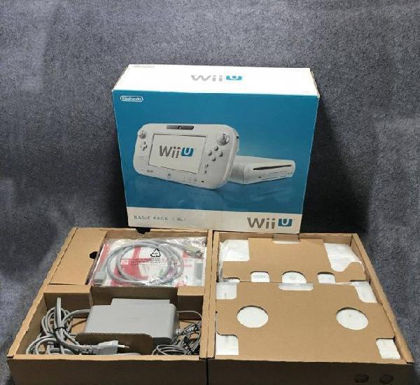 Consola nintendo wii u blanca 8gb con caja