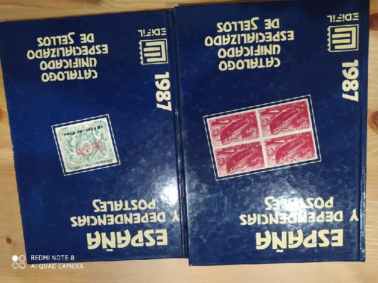 Catálogo especializado sellos españa y dependencia