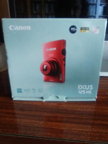 Cámara de fotos digital canon ixus 125hs