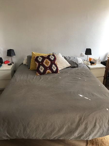 Colchón y canapé - cama matrimonio
