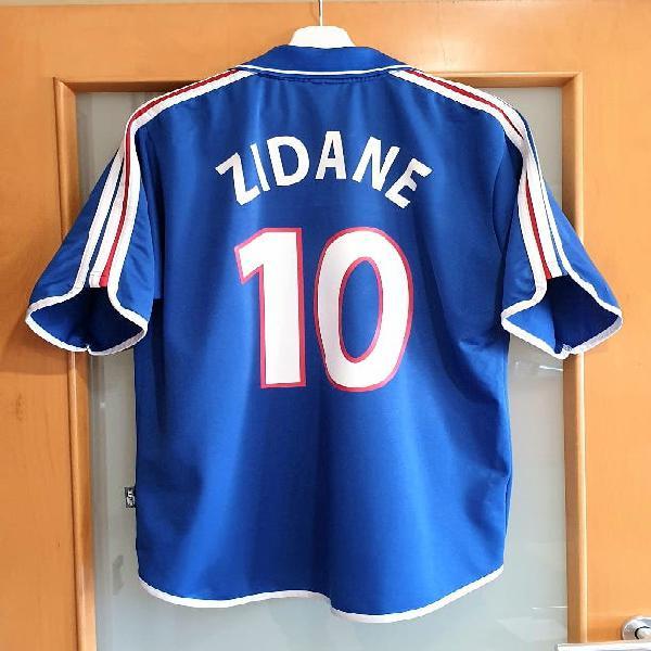 Francia euro 2000. l. zidane campeón mejor jugador