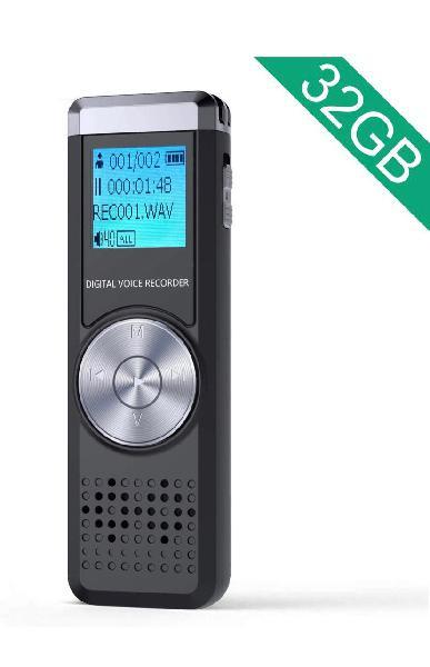 Grabadora de voz digital 32gb nueva