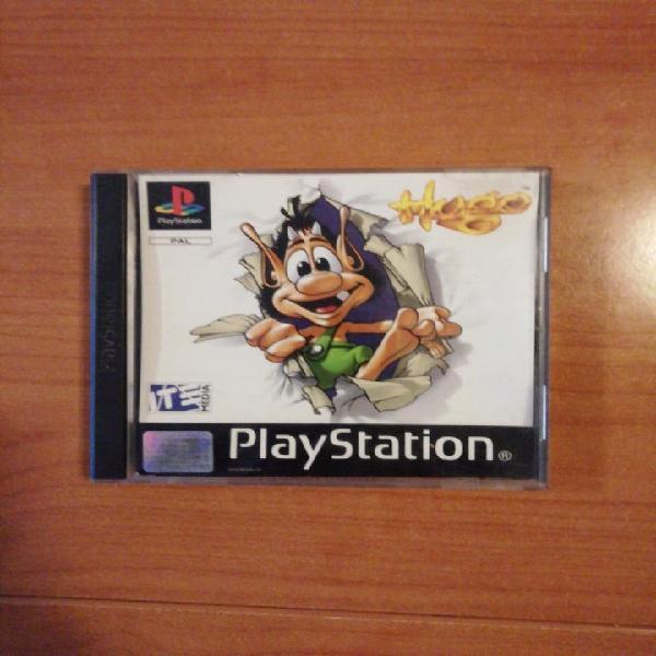 Hugo. ps1. psx. playstation.