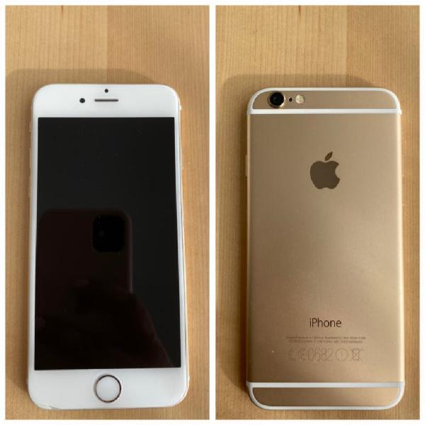 Iphone 6 16gb dorado en perfecto estado
