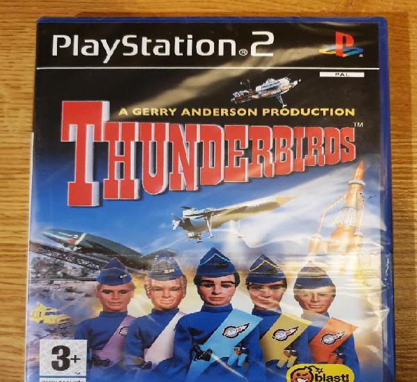 Juego thunderbirds playstation 2 ps2. nuevo precintado.