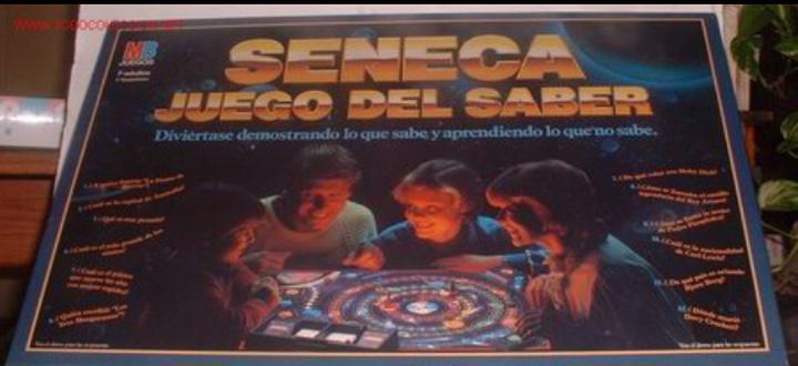 Juego de mesa - seneca el juego del saber - mb juegos -