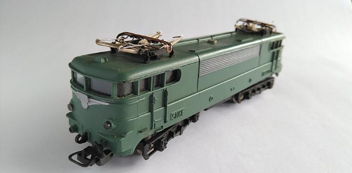 Lima h0 locomotora eléctrica. no funciona.. tal cual fotos