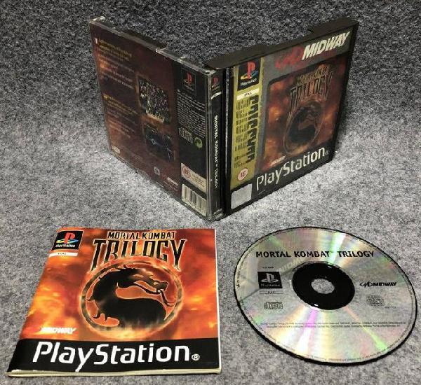 Mortal kombat trilogy sony playstation ps1