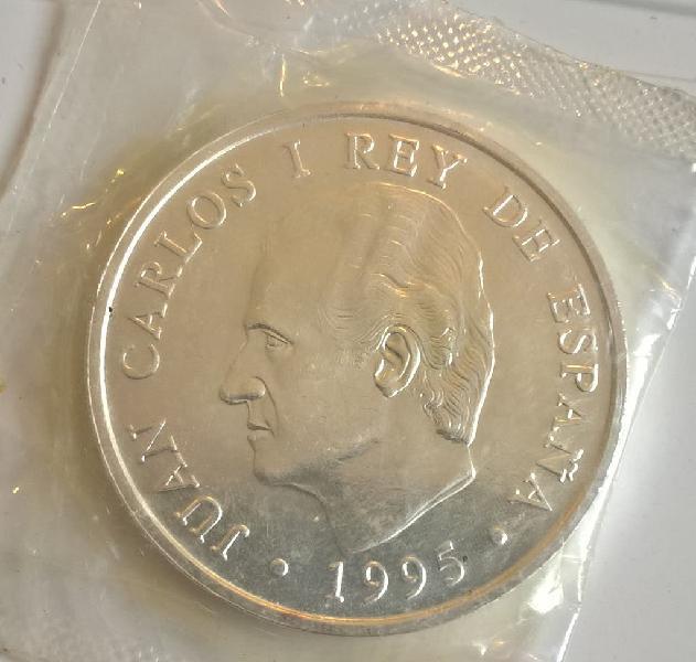 Moneda 2000 pesetas plata