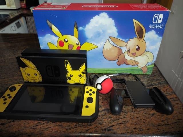 Nintendo switch edicion coleccionista pokémon