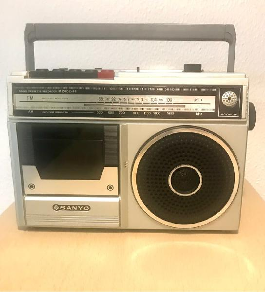 Ocasión! radio casette sanyo vintage
