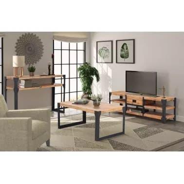 Oportunidad!!! muebles salón madera maciza
