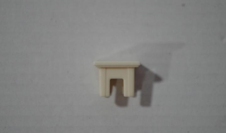 Playmobil tapa blanca columna poste repuesto vallado pieza