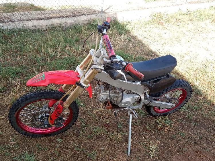 Pit bike roan