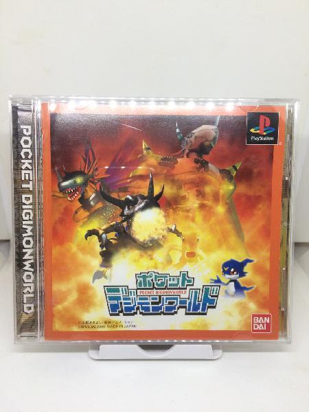 Pocket digimon world ps1 playstation psx