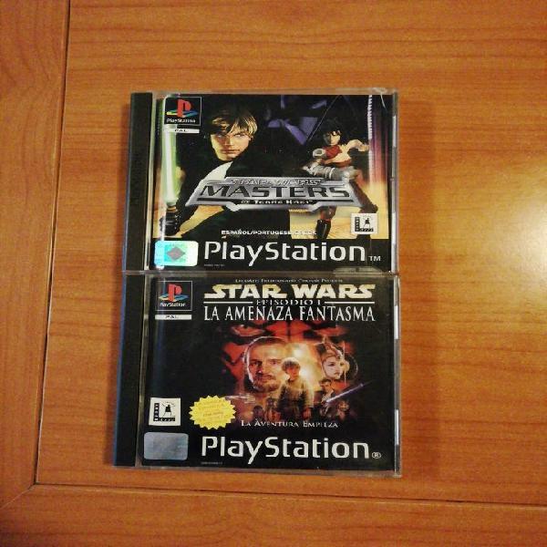 Ps1. psx. star wars. 2 juegos.