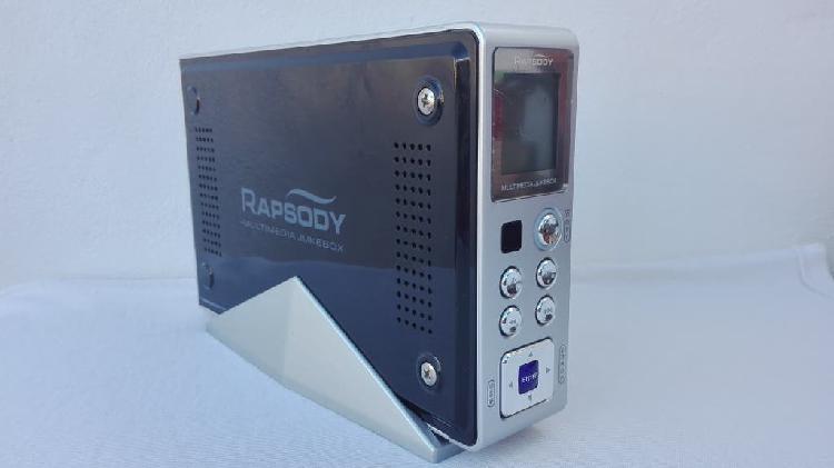 Reproductor multimedia rapsody rsh-100