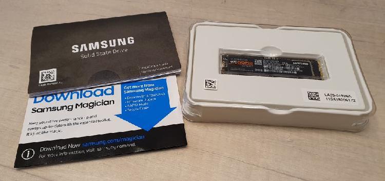 Samsung 970 evo plus ssd m.2 nvme 250gb