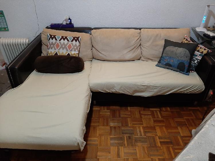 Sofá 3 plazas chaise longue