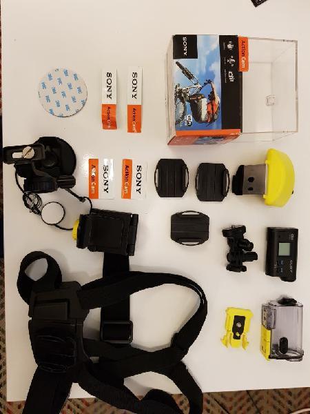 Sony action cam + accesorios