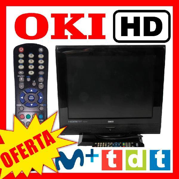 Televisión oki 15'' hd