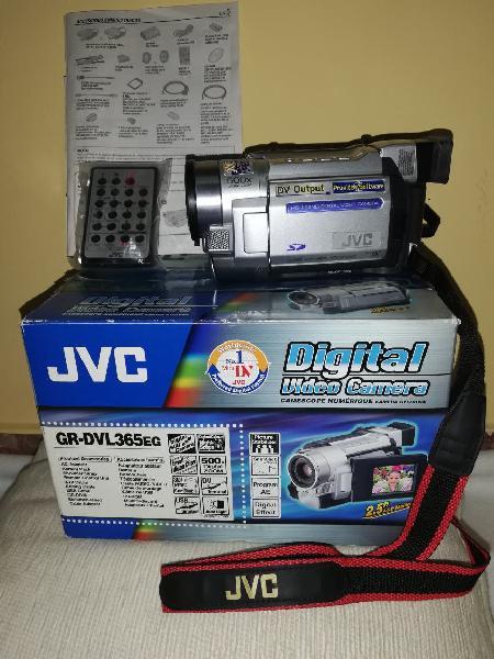 Video cámara jvc compacta