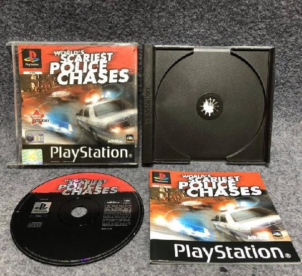 Worlds scariest police chases sony playstation ps1