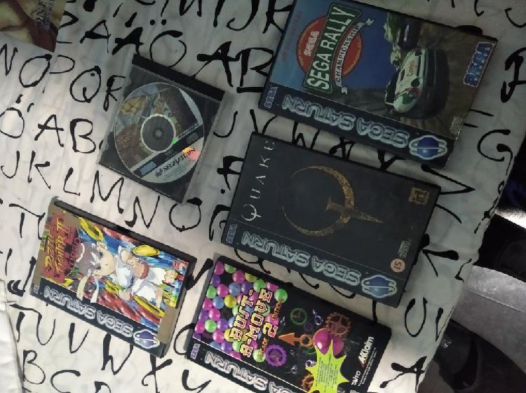 Pack juegos sega saturn