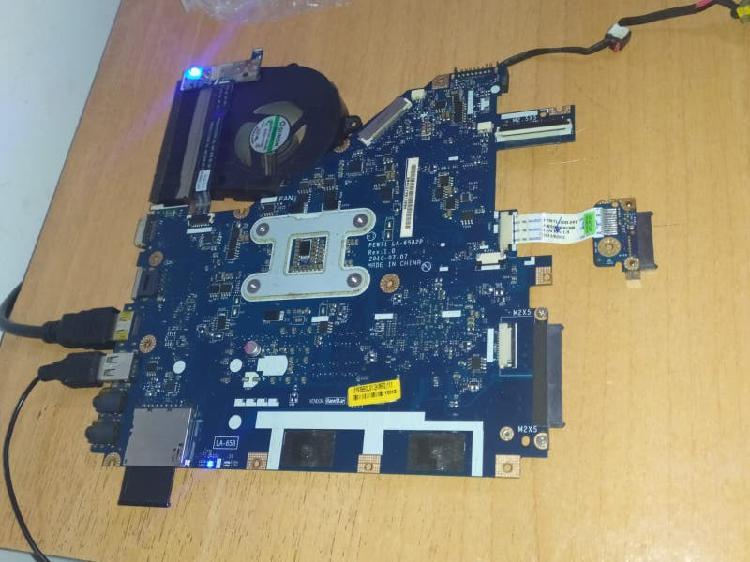 Placa base intel core i3 380m a 2.53ghz