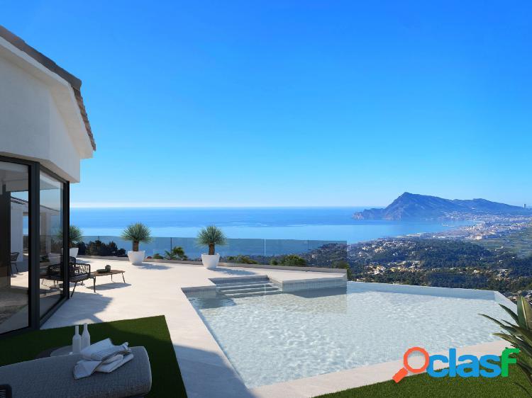 Villa con vistas al mar en ven 2