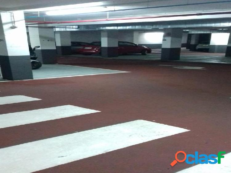 2 plazas de parking en vila de gracia
