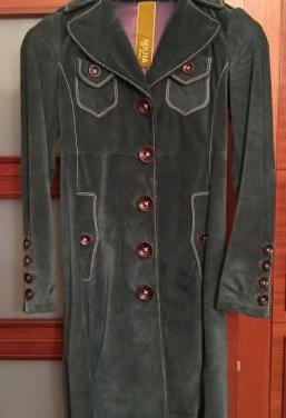 Abrigo chaqueton piel nolita t40