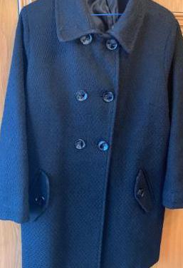 Abrigo chaqueton paño mujer