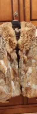 Abrigo de piel lomos de zorro