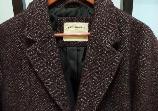 Abrigo lana hombre