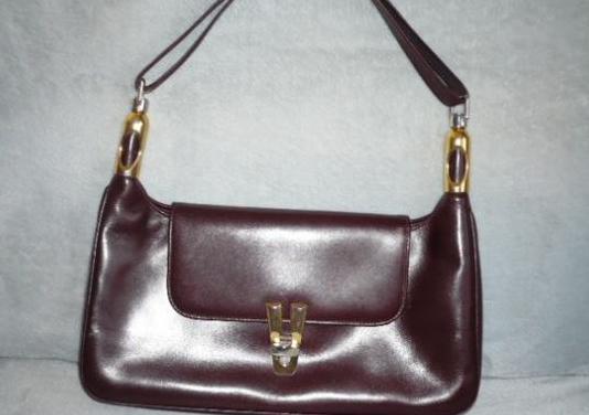 Bolso marrón vintage de piel