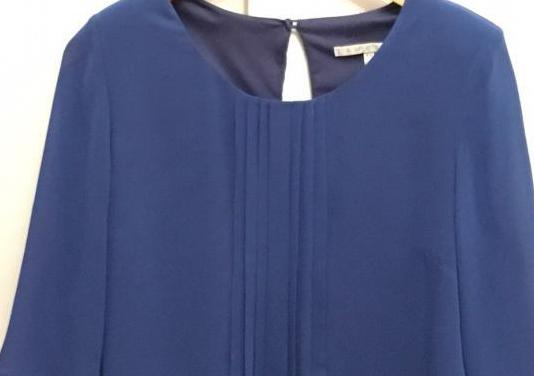 Blusa azul talla 42