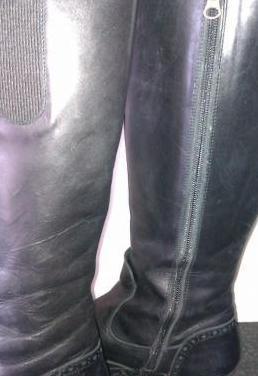 Botas piel negras -koty luxe- t:39
