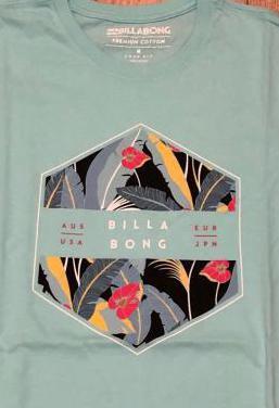 Camiseta billabong nueva y regalo asics (talla m)