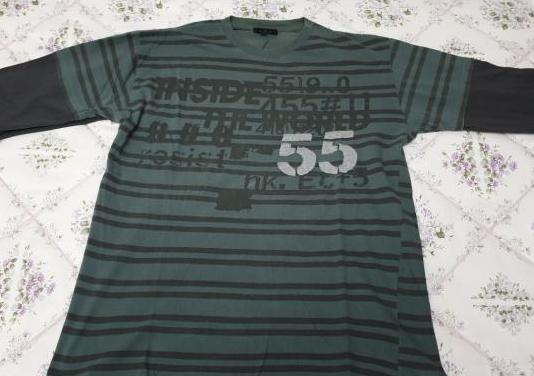 Camiseta inside, manga larga