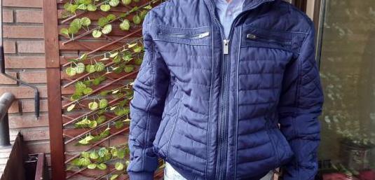 Cazador / chaqueta azul
