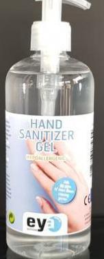 Gel hidroalcoholico para manos dermo 500 ml