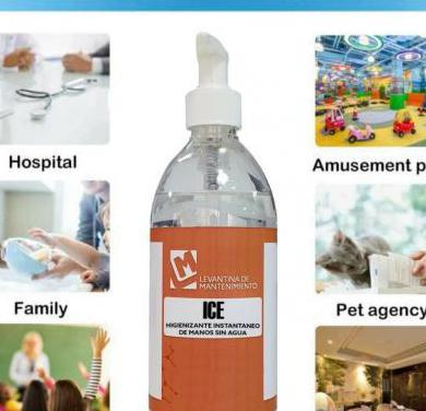 Gel desinfectante hidroalcoholico