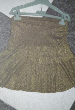 Mini falda y top