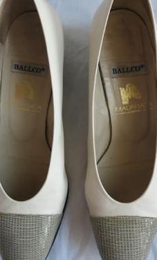 Zapatos de piel Ballco. Talla:38