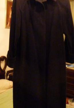 Abrigo azul marino clasico talla 42 nuevo sin usar